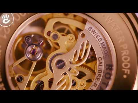 Rotary GS90506/06 Trái Tim Vàng Son Ngập Tràn Sức Nóng