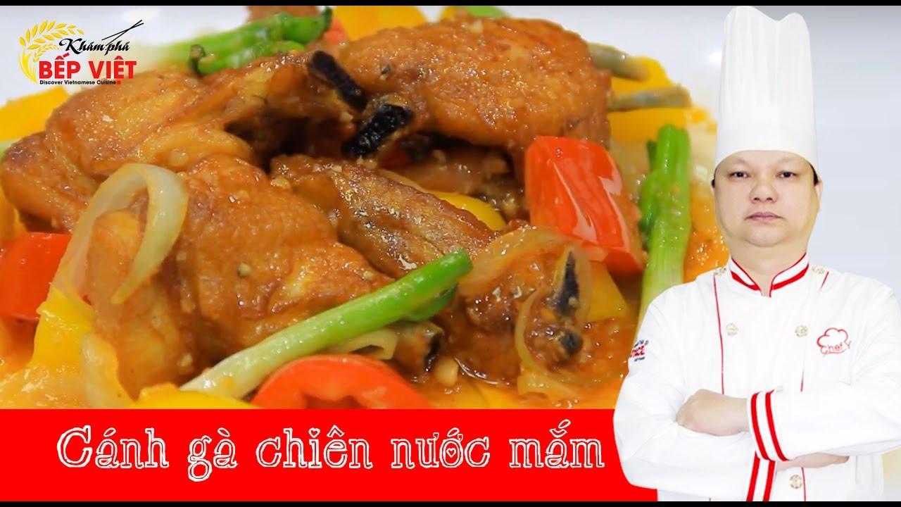 Cách làm Cánh Gà Chiên Nước Mắm cực ngon với Thầy Y   How to make Fried chicken with fish sauce