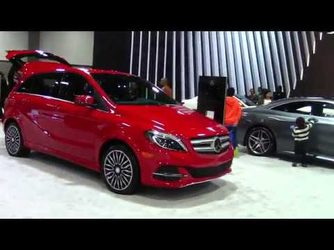 mercedes benz b class 2018 washington dc auto show 2017 youtube. Black Bedroom Furniture Sets. Home Design Ideas