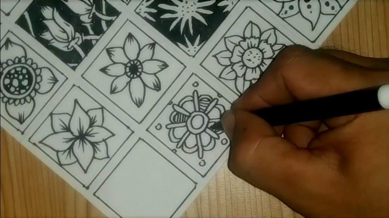 20 Pattern Flower Patern Batik Bunga Youtube