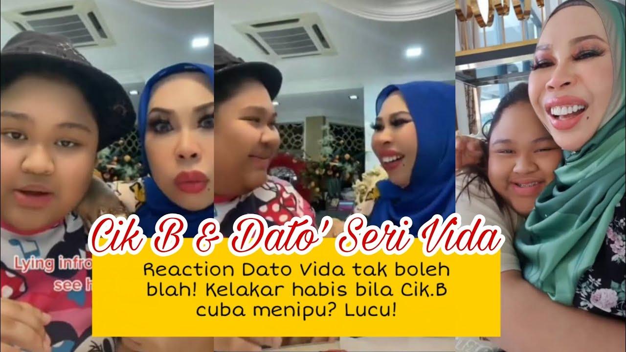 Lihat reaction Dato Vida bila Cik.B cuba tipu? kelakar habis Cik.B menyakat Dato Vida. Kelakar gila!