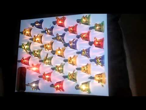 Holiday Essence Indoor Synchronized Musical Christmas Bells Lights