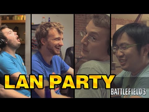 Battlefield 3 with freddiew and corridordigital on LAN Party - NODE |