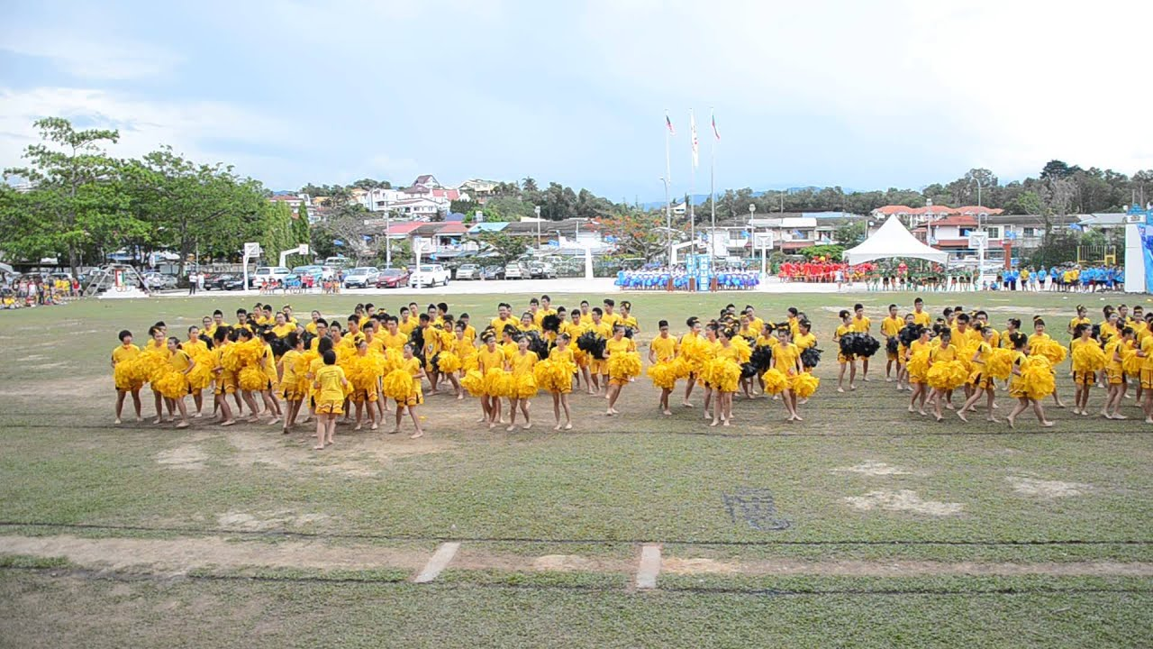 2013 sttss annual sports meet - (yellow house cheer leading dance