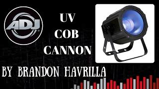 ADJ UV Cob Cannon | UV Light Review/Product Demo