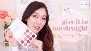 COLOURPOP 爆美新品: Give It To Me Straight 眼影盤 開箱試色心得 | First Impression u0026 Swatches | The Real Rosie