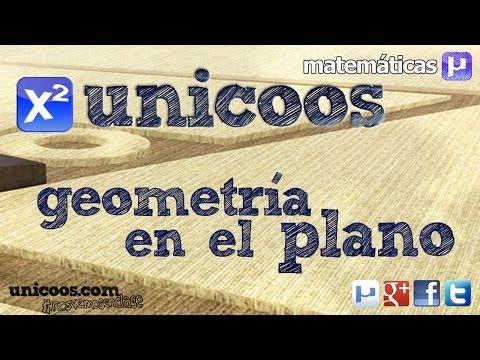 Recta Paralela y Perpendicular SECUNDARIA (4ºESO) geometria plana