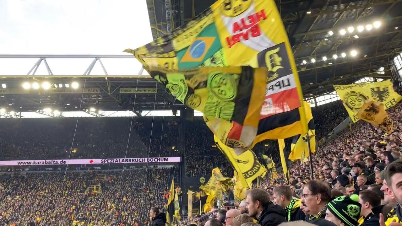 Borussia Dortmund - Freiburg 1:0 Südtribüne Highlights