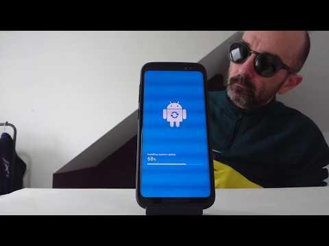 Samsung Galaxy S8 Latest Software Update 💓 #ASMR upgrade video