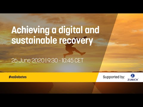 Achieving a digital and sustainable recovery