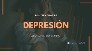 Los tres tipos de depresión según la dimensión de origen