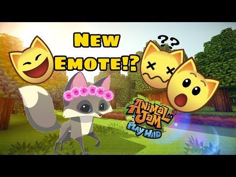 How To Get The New Emote! AJPW / Animal Jam Play Wild, New Emote?!