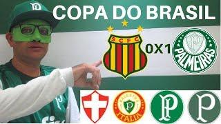 Pós jogo da Copa do Brasil - Sampaio Correa 0 X 1 Palmeiras -