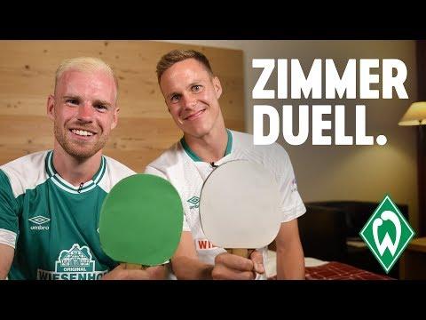Zimmerduell: Davy Klaassen & Niklas Moisander | SV Werder Bremen