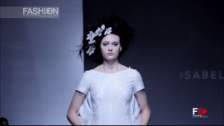 ISABEL ZAPARDIEZ Couture Fashion Week New York SS 2017 by Fashion Channel