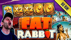 Online Slots: Great Session! Featuring Fat Rabbit Slot!