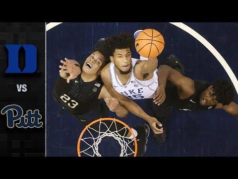Duke vs. Pittsburgh Basketball Highlights (2017-18)