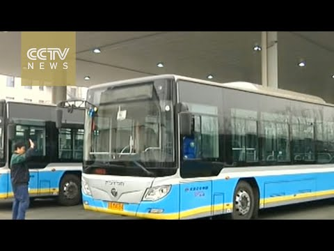 Beijing's clean energy buses drive for cleaner air