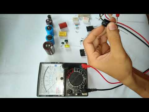 Hướng dẫn đo điện trở tụ điện transistor mofet diot cơ bản