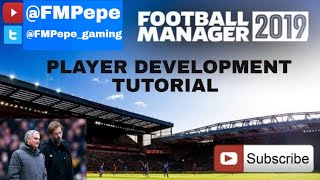 FM19 Player development tutorial for all players - football manager 2019
