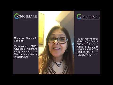 Palestra ministrada pela Dra. Maria Roseli Cândido - Gestão de Contratos
