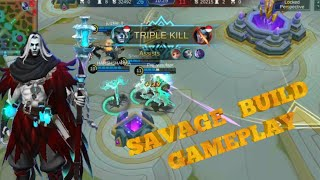 NEW HERO FARAMIS SAVAGE (BUILD)|| GOD GAMEPLAY|| MOBILE LEGEND