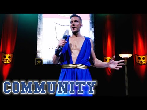 Troy STOLE The Trademark Handshake! | Community from YouTube · Duration:  3 minutes 49 seconds