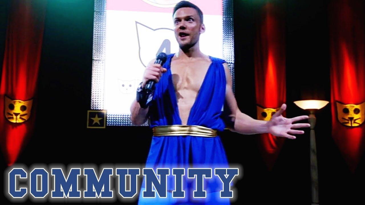 Jeff Enters The Talent Show | Community