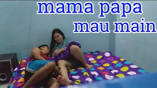 Gambar cover Mama papa mau main!!!