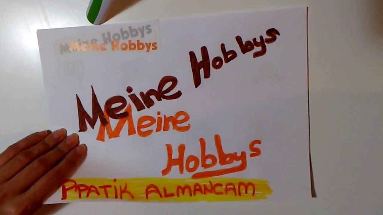 Almanca Hobiler Youtube