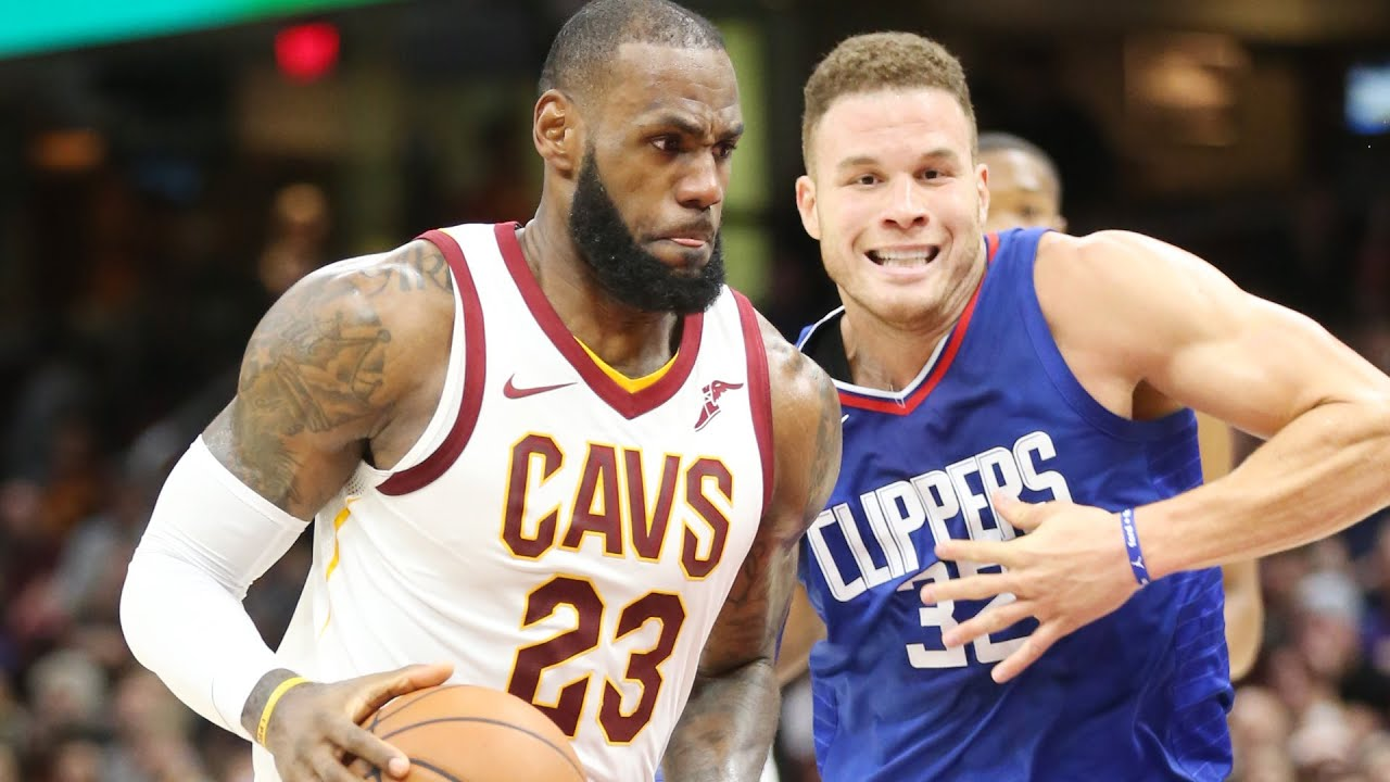 LeBron James 'tough' on Clippers' Blake Griffin in win ...  Blake