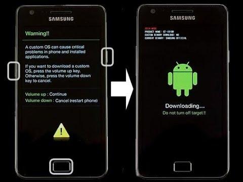 Android telefona rom(Format Atma) Download mod ve odin ile