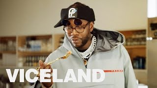 2 Chainz Samples Opulent Cannabis Cuisine | MOST EXPENSIVEST