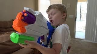 batalha de armas nerf