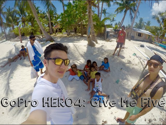 GoPro HERO4: Give Me Five in Cebu, the Philippines (세부여행)