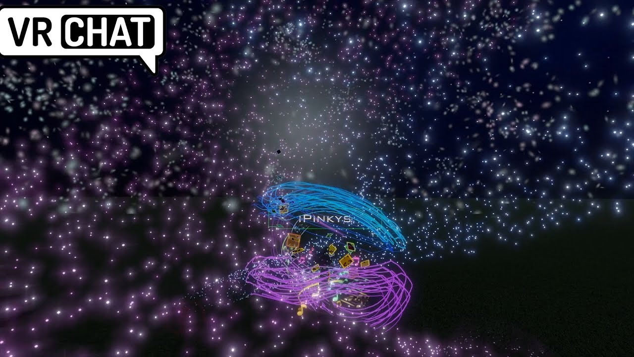 VRChat iPinkys Particle Performance for Nep Gang