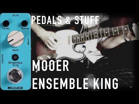 Mooer Ensemble King analog chorus guitar pedal demo