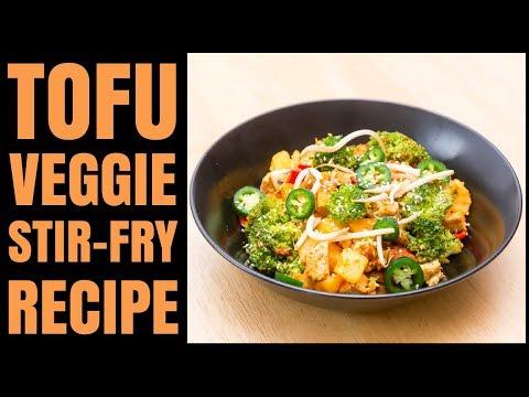 Easy Tofu And Veggie Stir Fry Recipe / Vegan / Gluten-Free