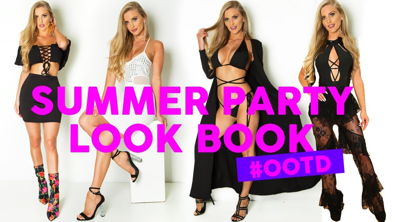 fb84166216be Summer Party Outfit Ideas 2018! What to Wear to 4 Different Occasions