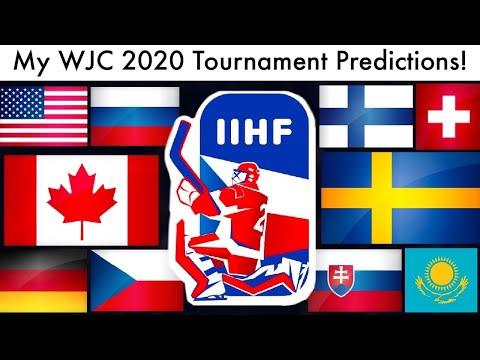 My WJC 2020 Tournament Predictions! (IIHF World Junior Championships Hockey Bracket & Gold Picks)