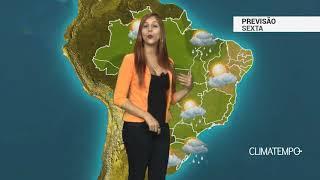 Previsão Brasil - Chuva quase em todo BR