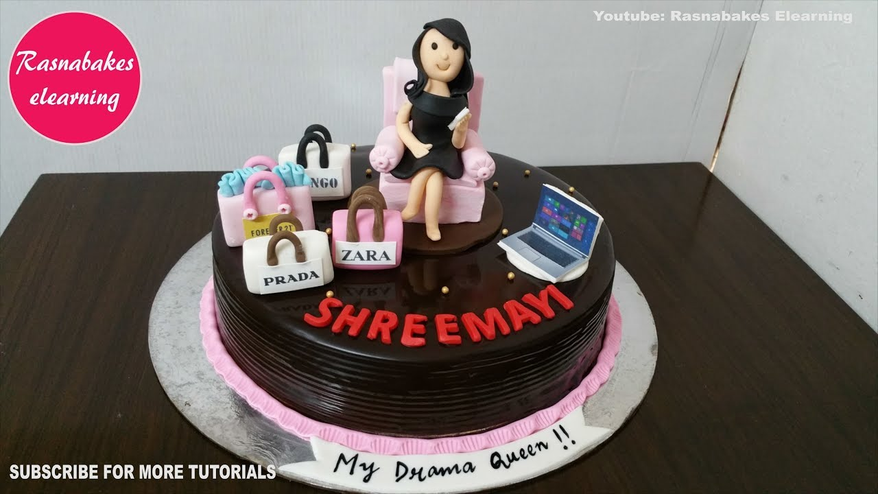 Birthday Cakes For Women Gift Ideas For Her Wife Female Friend Girlfriend Design Decorating Youtube