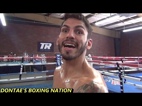 JORGE LINARES TALKS OMAR  FIGUEROA ,CANELO, PACQUIAO AND MAY