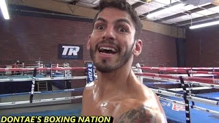 JORGE LINARES TALKS OMAR  FIGUEROA ,CANELO, PACQUIAO AND MAYWEATHER
