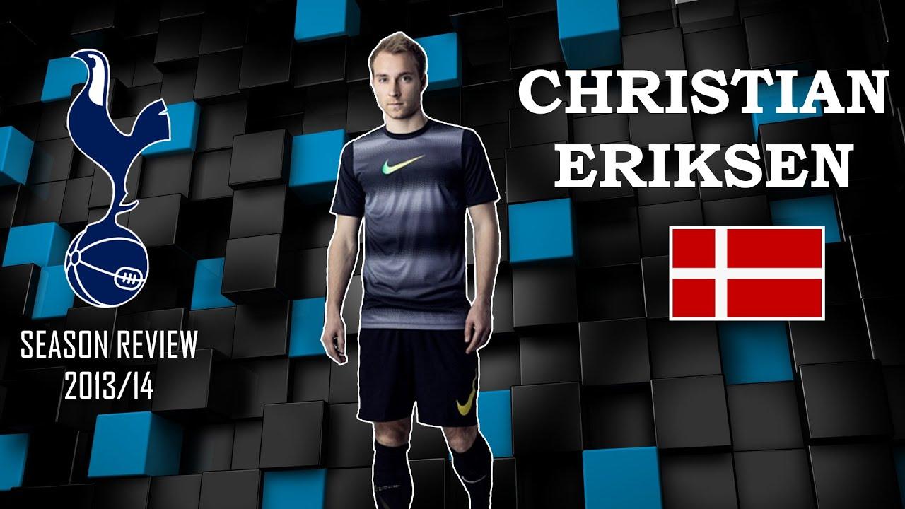 CHRISTIAN ERIKSEN 2013-2014 GOALS & SKILLS
