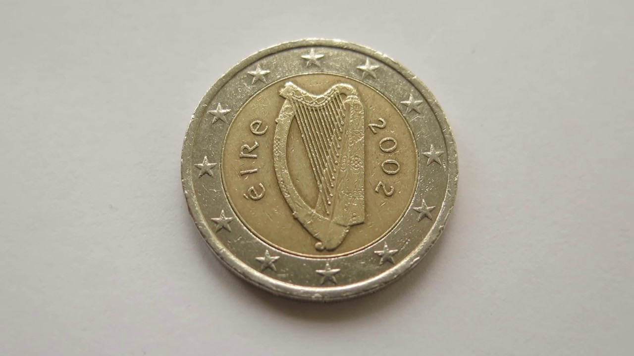 2 euro coin ireland 2002 youtube. Black Bedroom Furniture Sets. Home Design Ideas