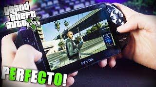 Así es el GTA 5 en la Ps Vita