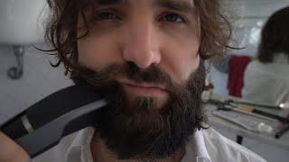 mi faccio la barba