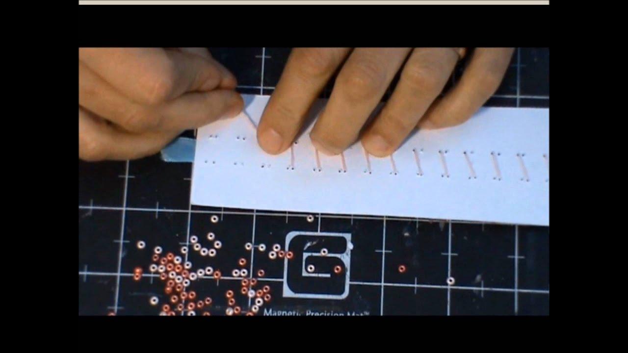 Ongekend borduren met kraaltjes, door C. van Holstein - YouTube DJ-44