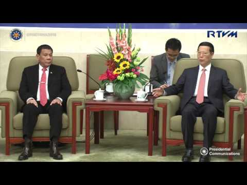 Meeting with the Chinese Premier 10/20/2016